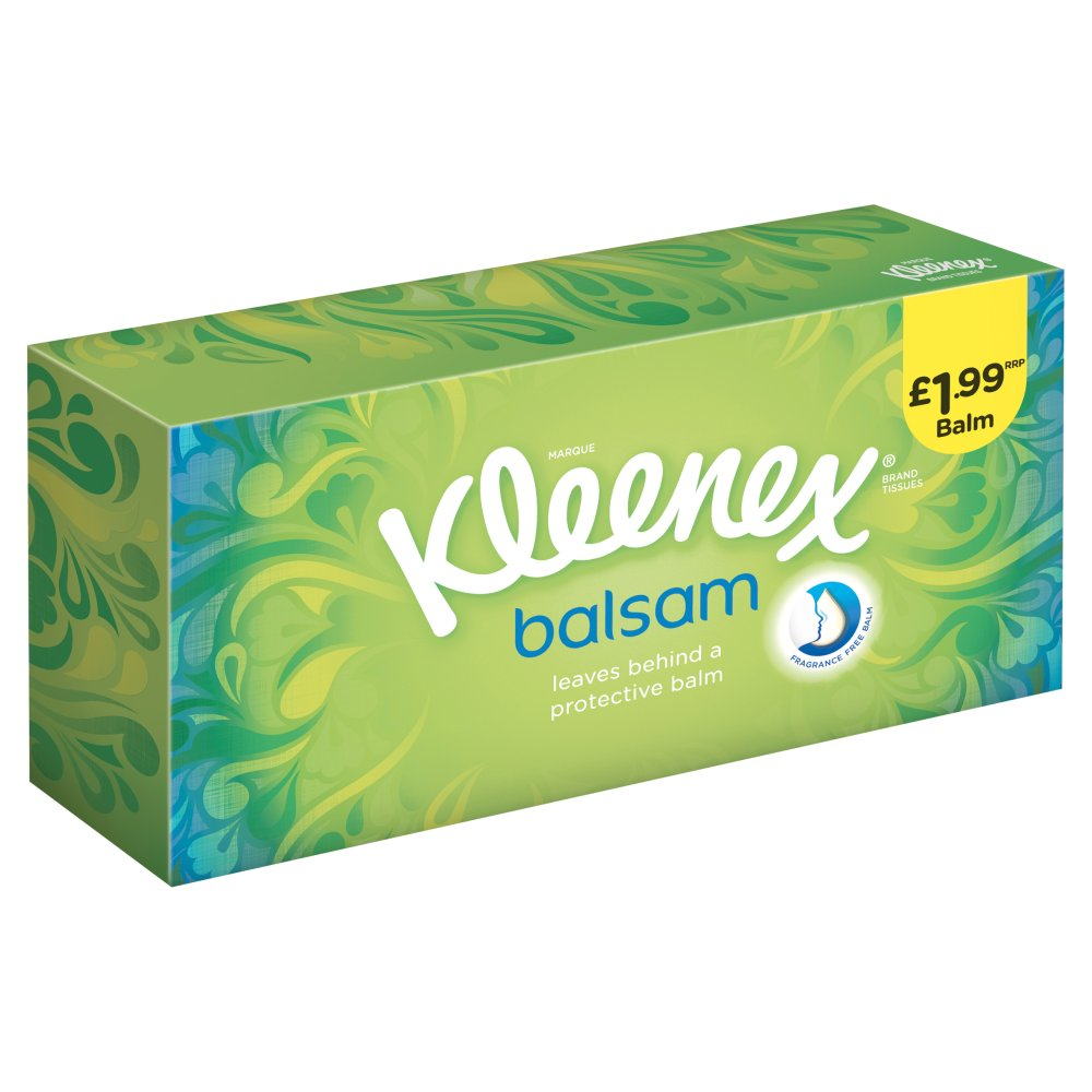 Kleenex Balsam Regular PM £1.99