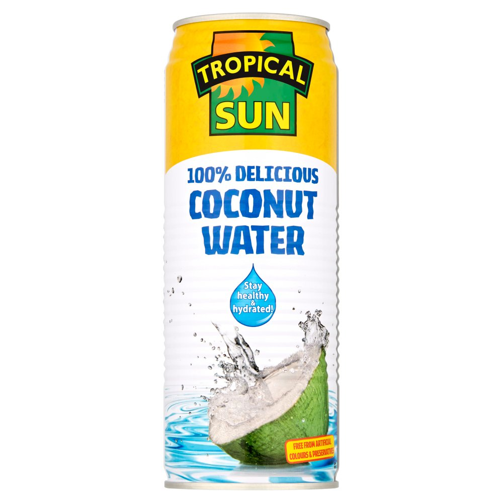 Tropical Sun Natural Coconut Water