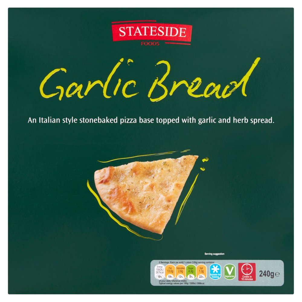 Stateside Garlic Bread PM £1