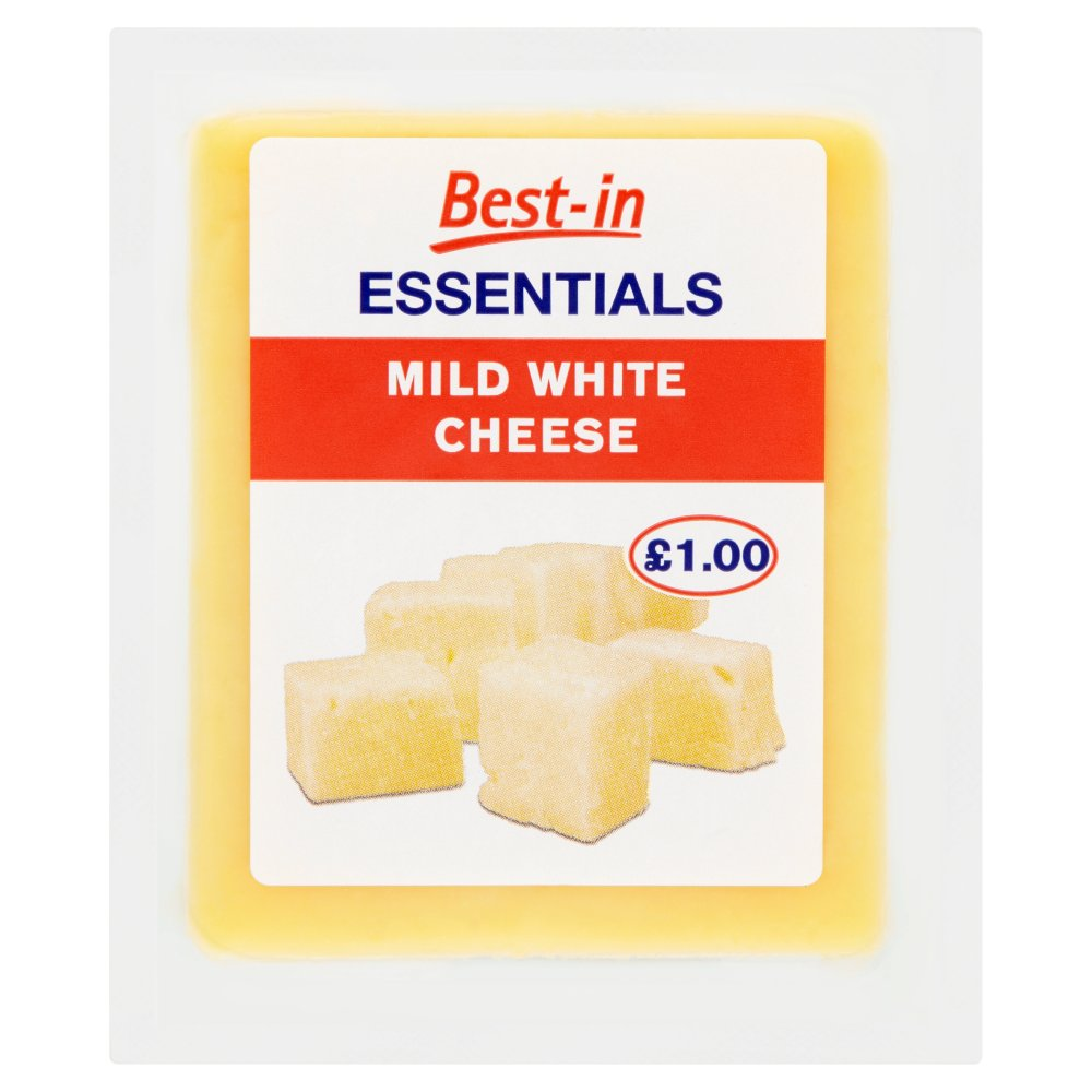 Best-in Essentials Mild White Cheese 150g