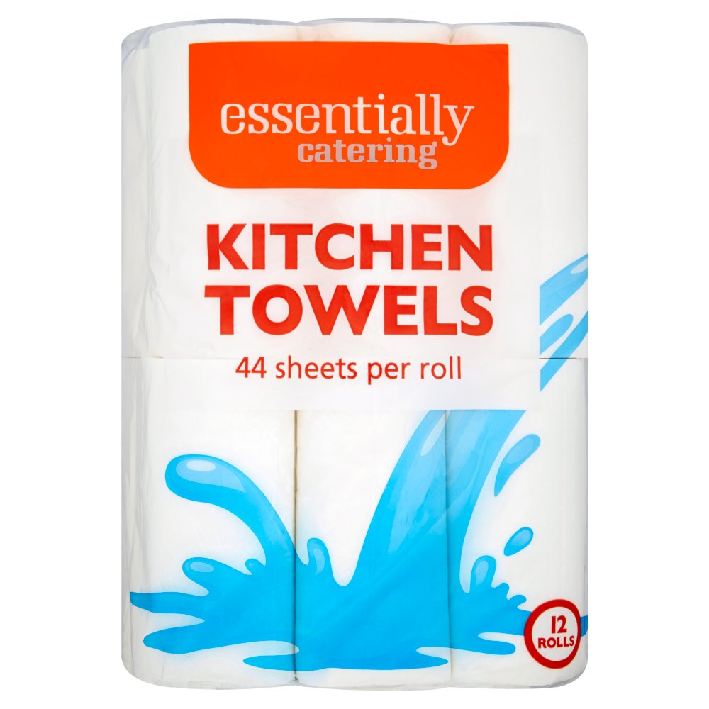 Essentially Catering Kitchen Towels 12 Rolls