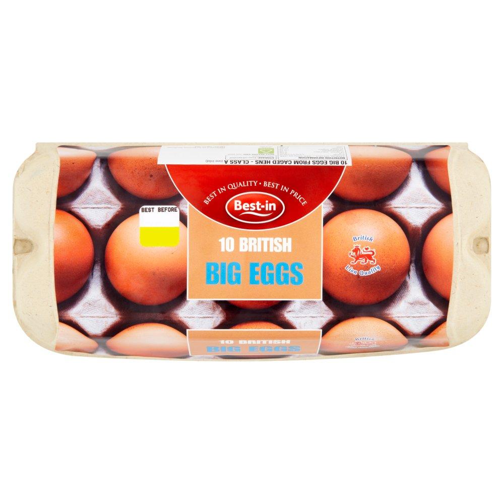 Best-in 10 British Big Eggs