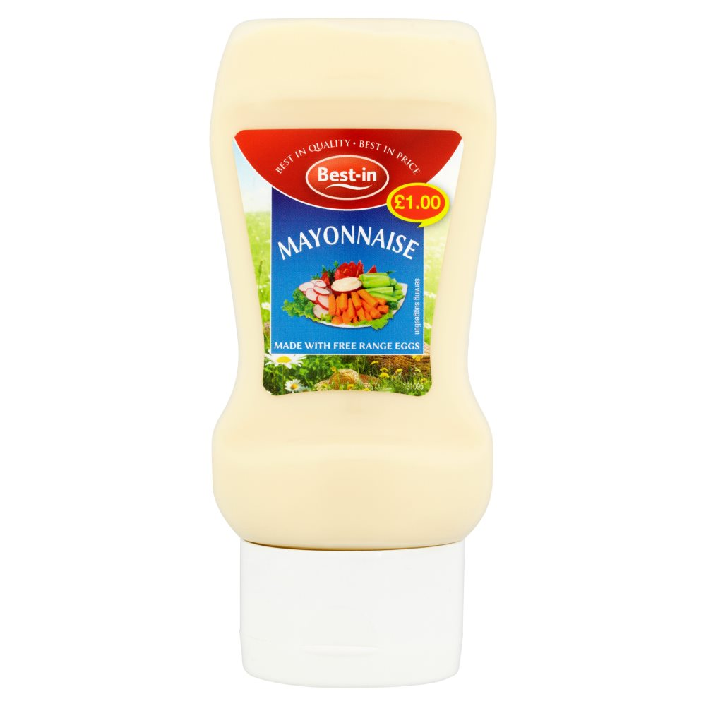 Bestin Mayonnaise Top Down Bottle £1.00