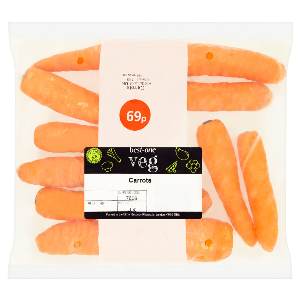 Best-One Veg Carrots 500g