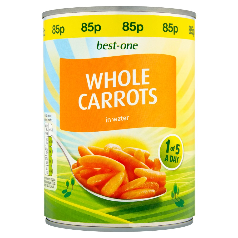 Best-One Whole Carrots in Water 560g