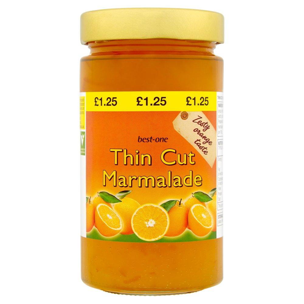 Best-One Thin Cut Marmalade 454g