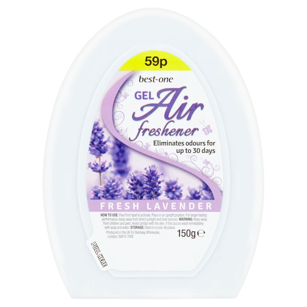 Best-One Gel Air Freshener Fresh Lavender 150g