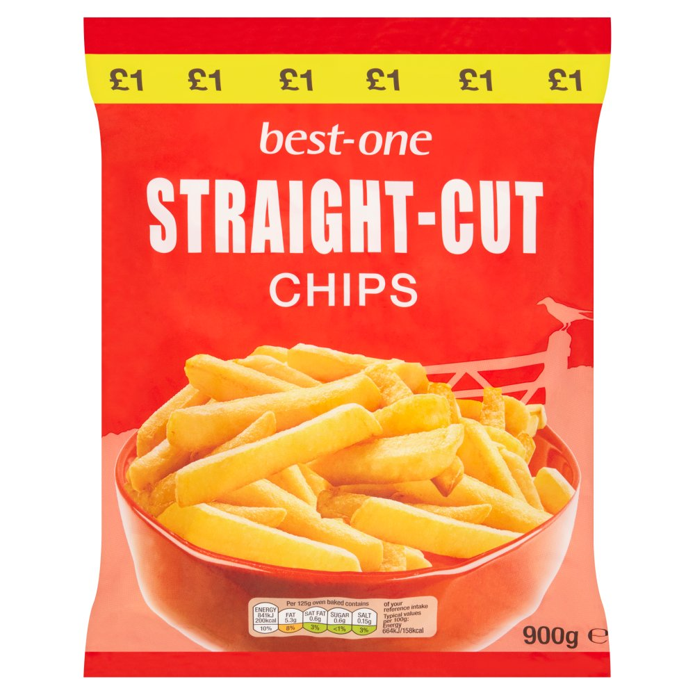 Best-One Straight-Cut Chips 900g