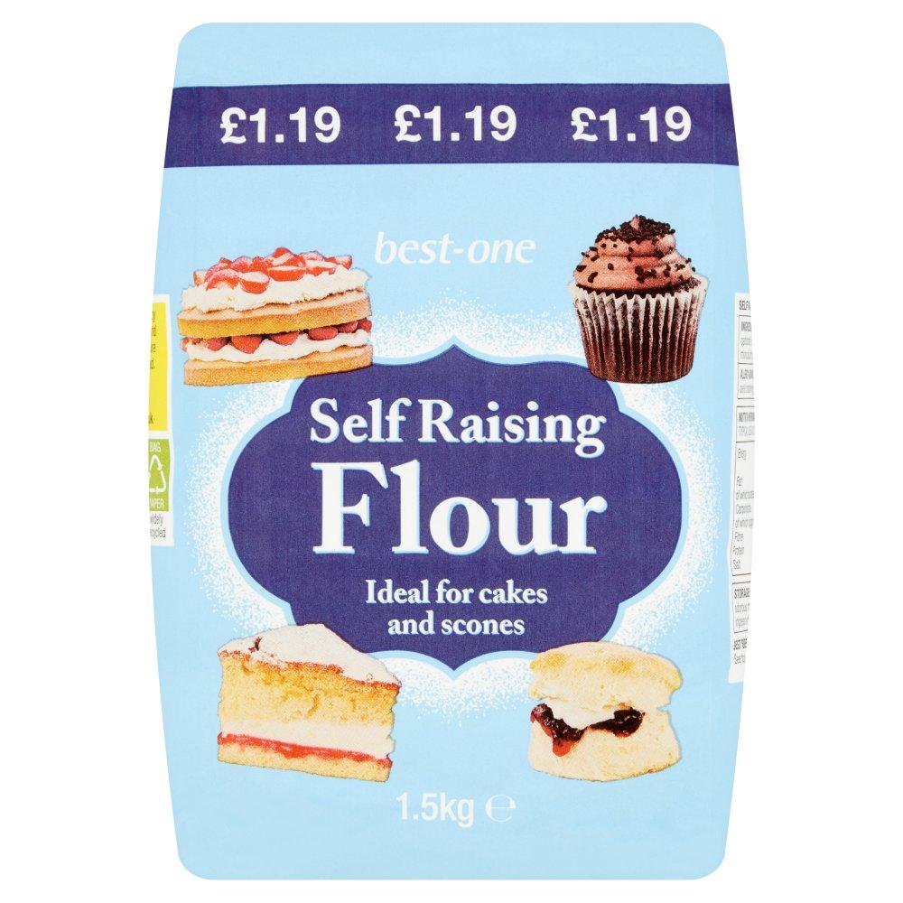 Best-One Self Raising Flour 1.5kg