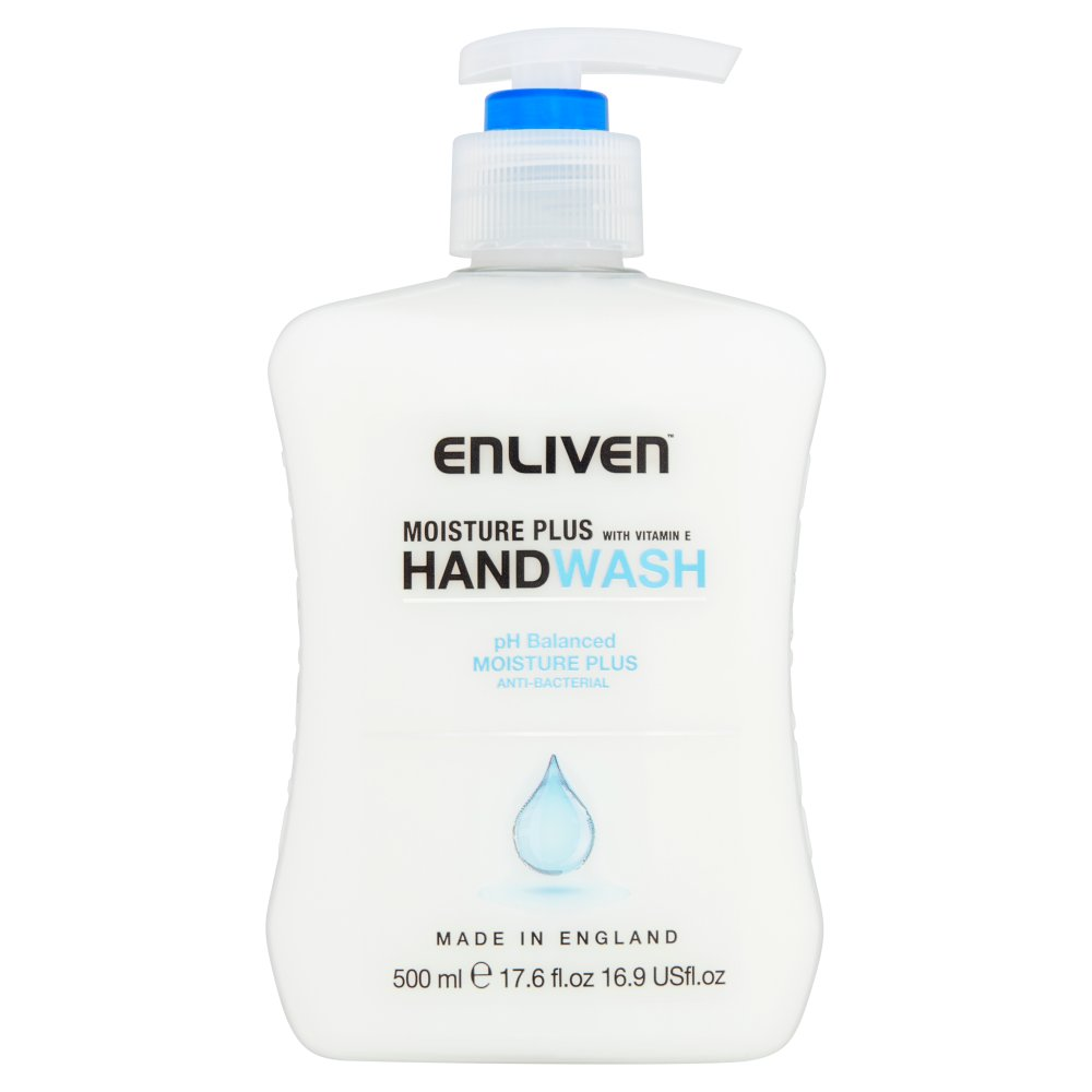 Enliven Moisture Plus Anti-Bacterial Handwash 500ml