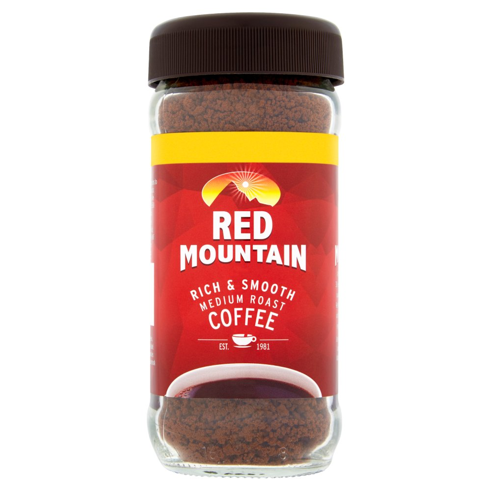 Red Mountain Medium Roast Coffee 85g