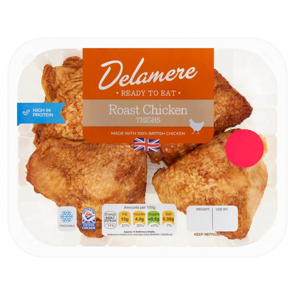Brittish Roast Chicken Thighs 2 For £4