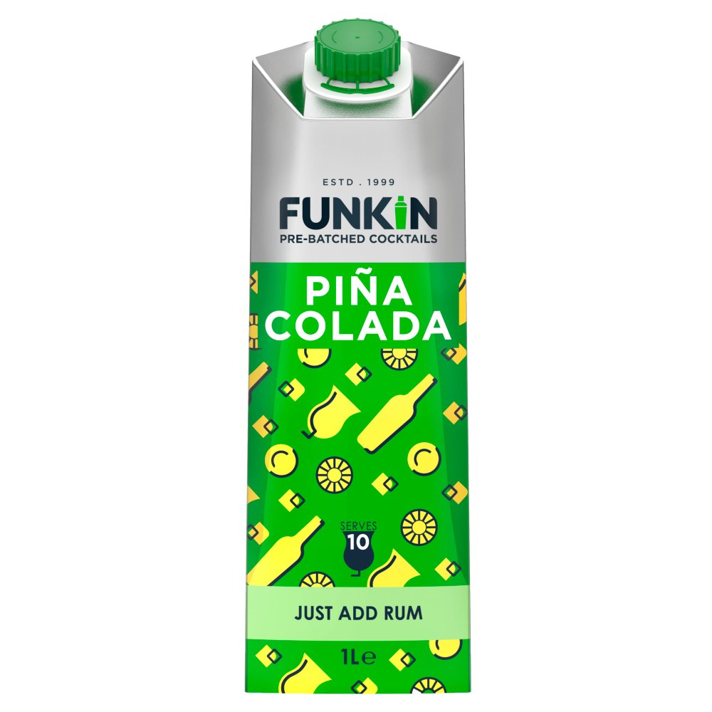Funkin Piña Colada Cocktail Mixer 1L