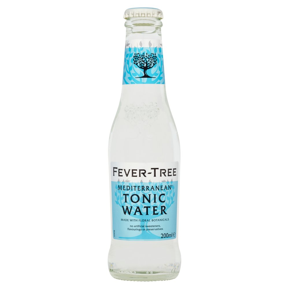 Fever Tree Mediterranean Tonic Water 200ml Bestway Wholesale Wrp On The Go Strawberry Low Fat 200 Ml
