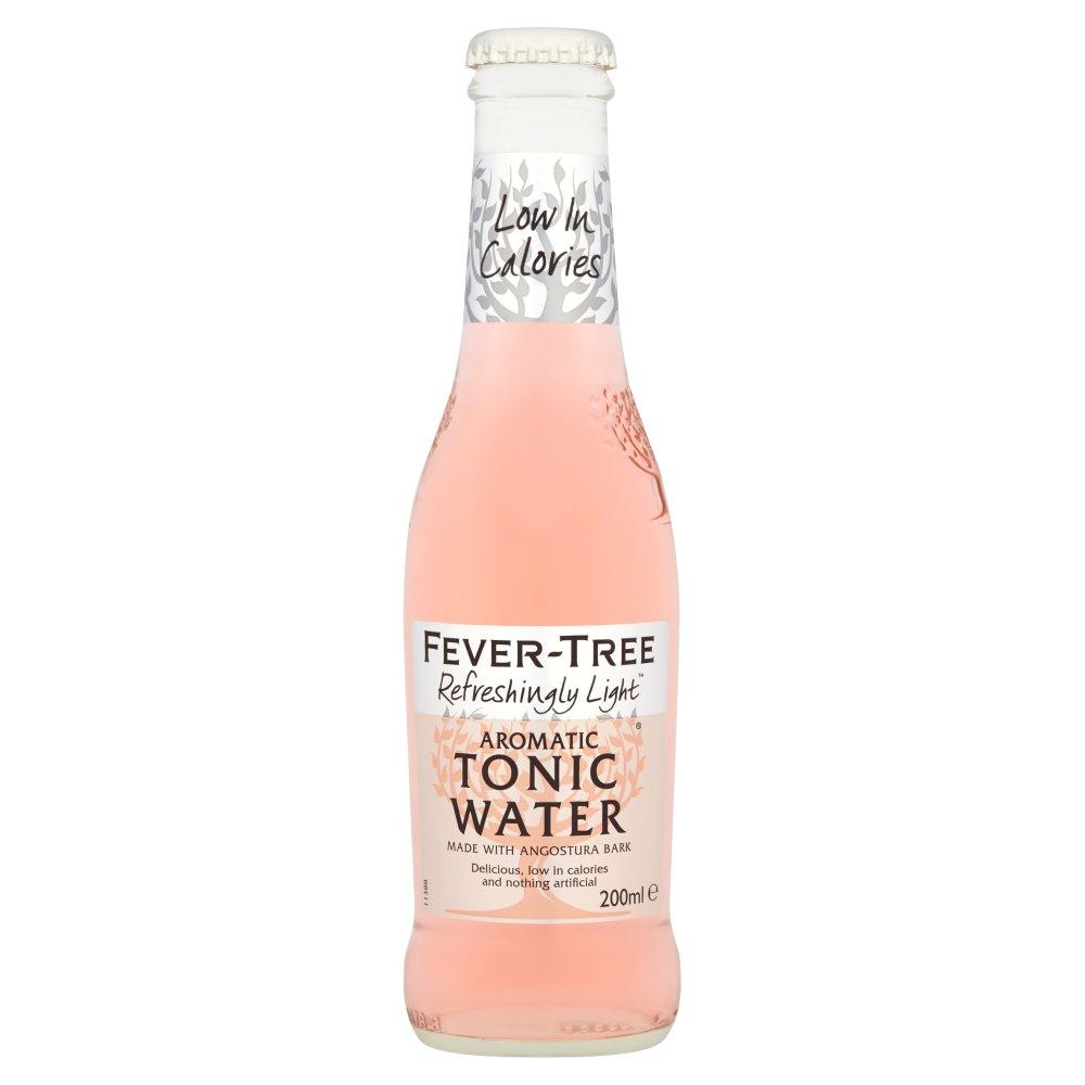 Fever-Tree Refreshingly Light Aromatic Tonic Water 200ml
