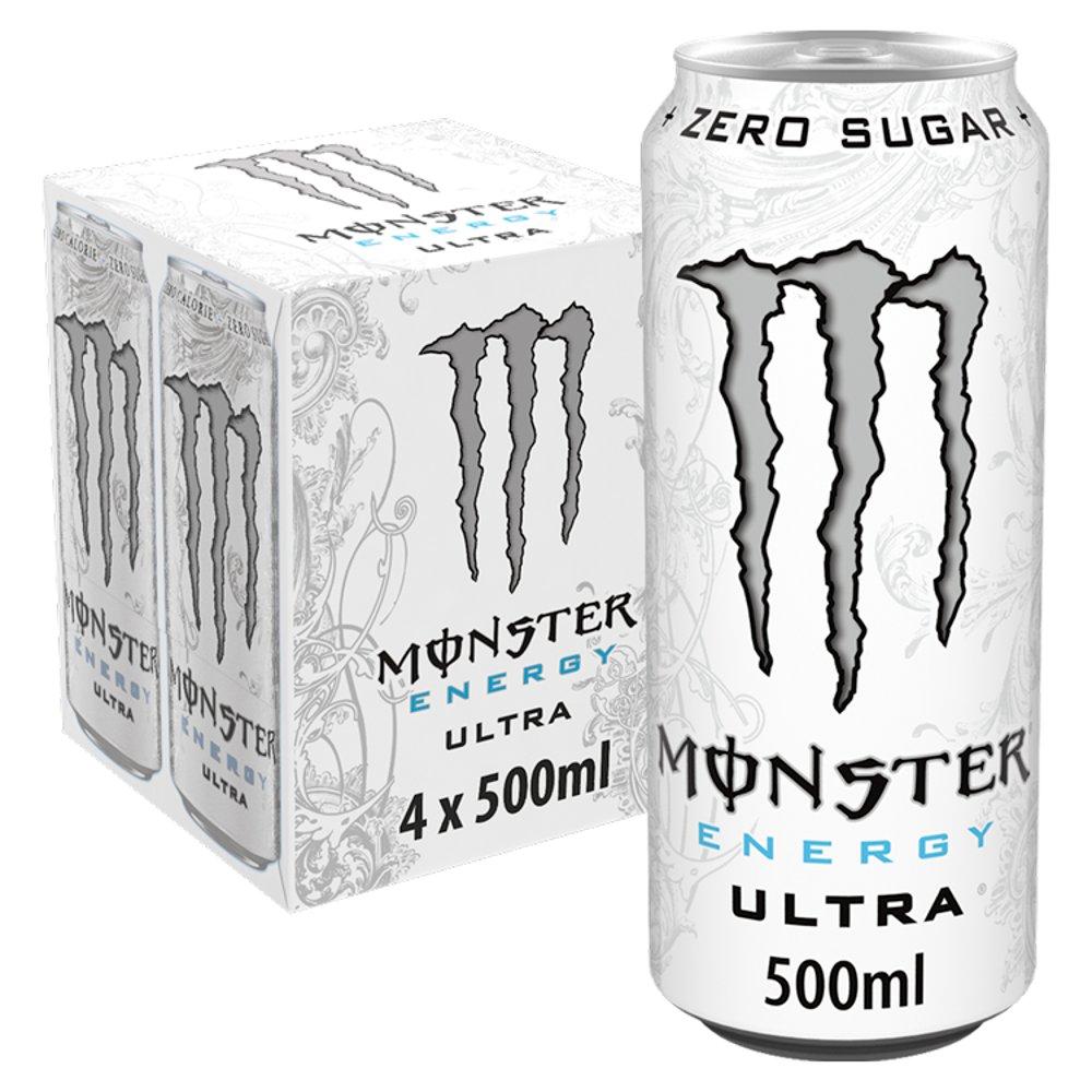 Monster Ultra 4 x 500ml
