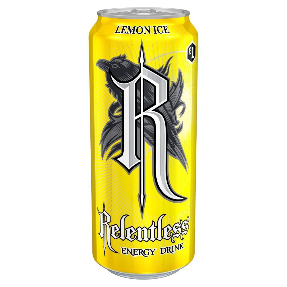 Relentless Lemon Ice 500ml PMP £1