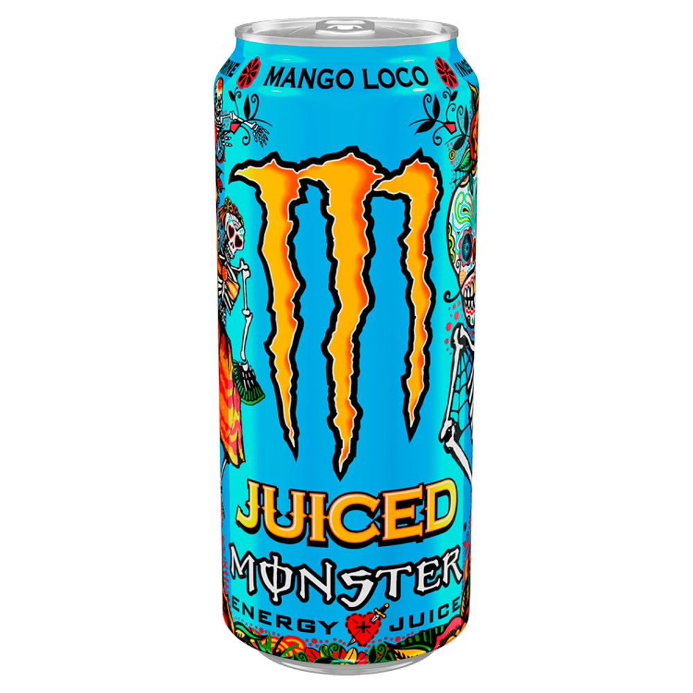 Monster Mango Loco Energy Drink 500ml PM £1.39