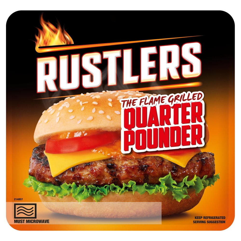 Rustlers Quarter Pounder PM £1.39