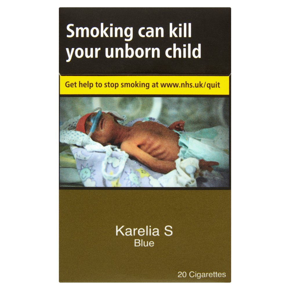 Karelia S Blue 20 Cigarettes