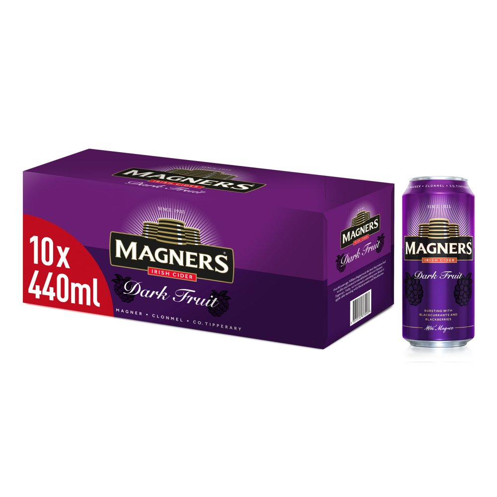 Magners Dark Fruit Irish Cider 10 x 440ml