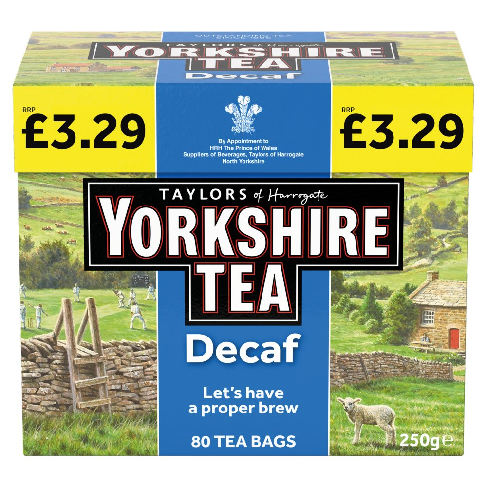 Yorkshire Teabags Decaf £3.29