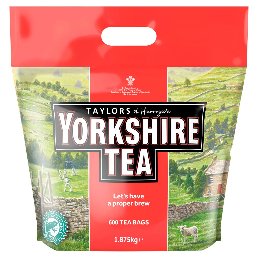 Taylors of Harrogate 600 Yorkshire Tea Bags 1.875kg