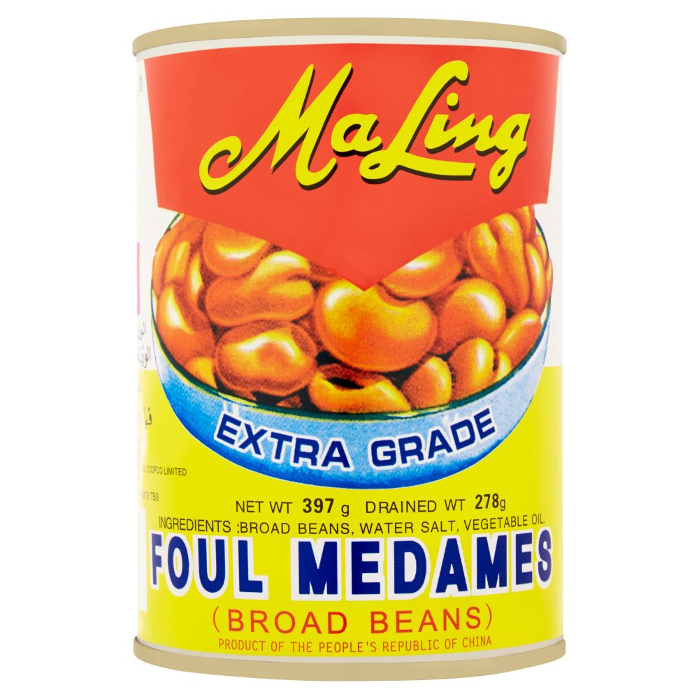 Ma Ling Extra Grade Foul Medames Broad Beans 397g