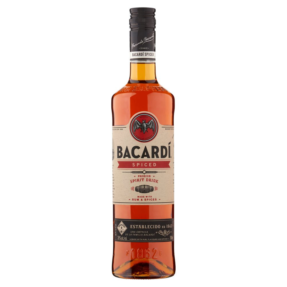 Bacardí Spiced Premium Spirit Drink 700ml