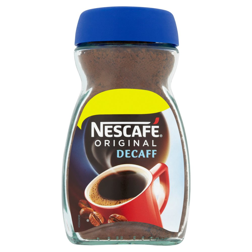 Nescafe Orig Decaff Instant Coffee 100g PM£2.99