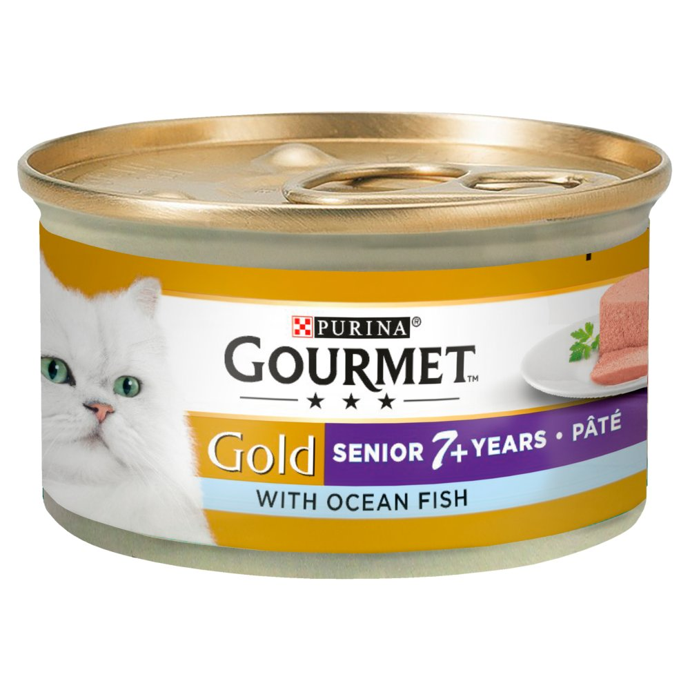 Gourmet Gold Senior Ocean Fish