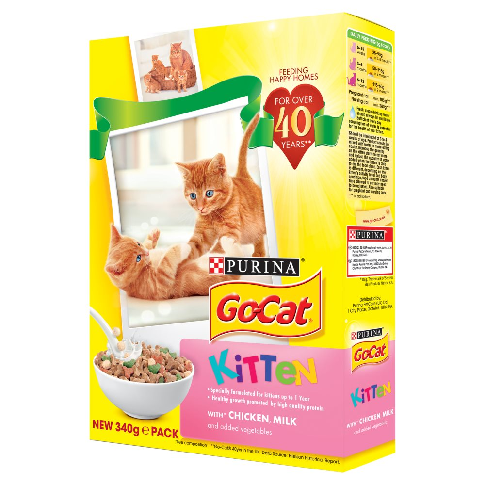 Go Cat Kitten Chicken & Milk & Veg