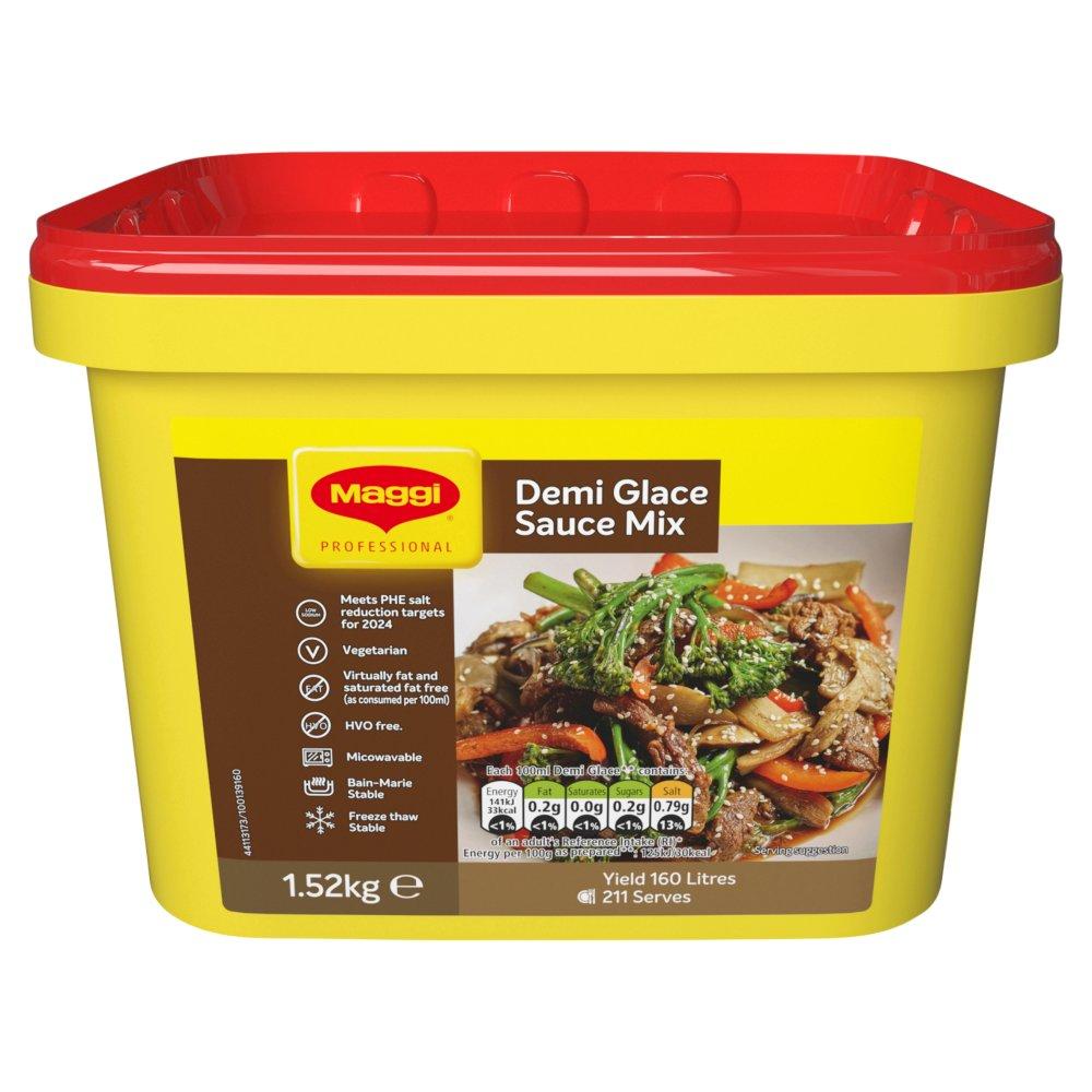 Maggi Classic Demi Glace Sauce Tub 1.52kg