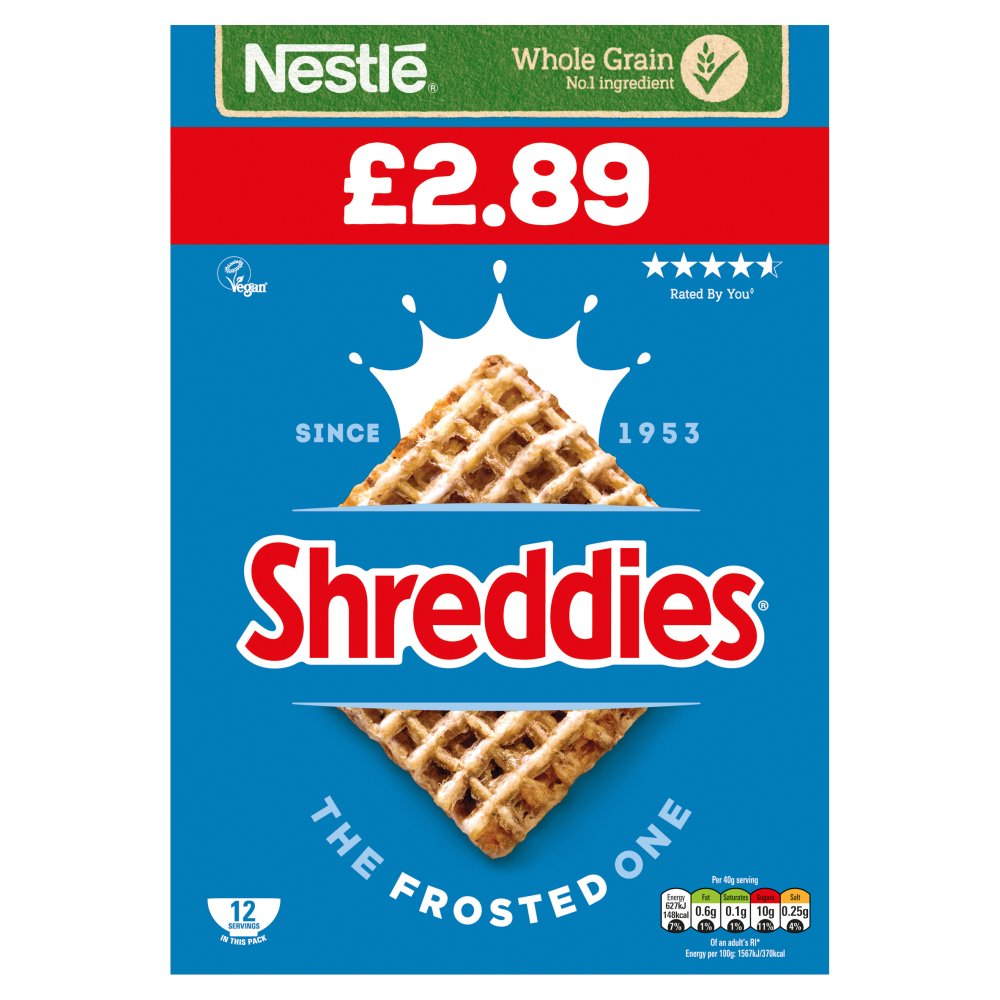 Shreddies The Frosted One 500g