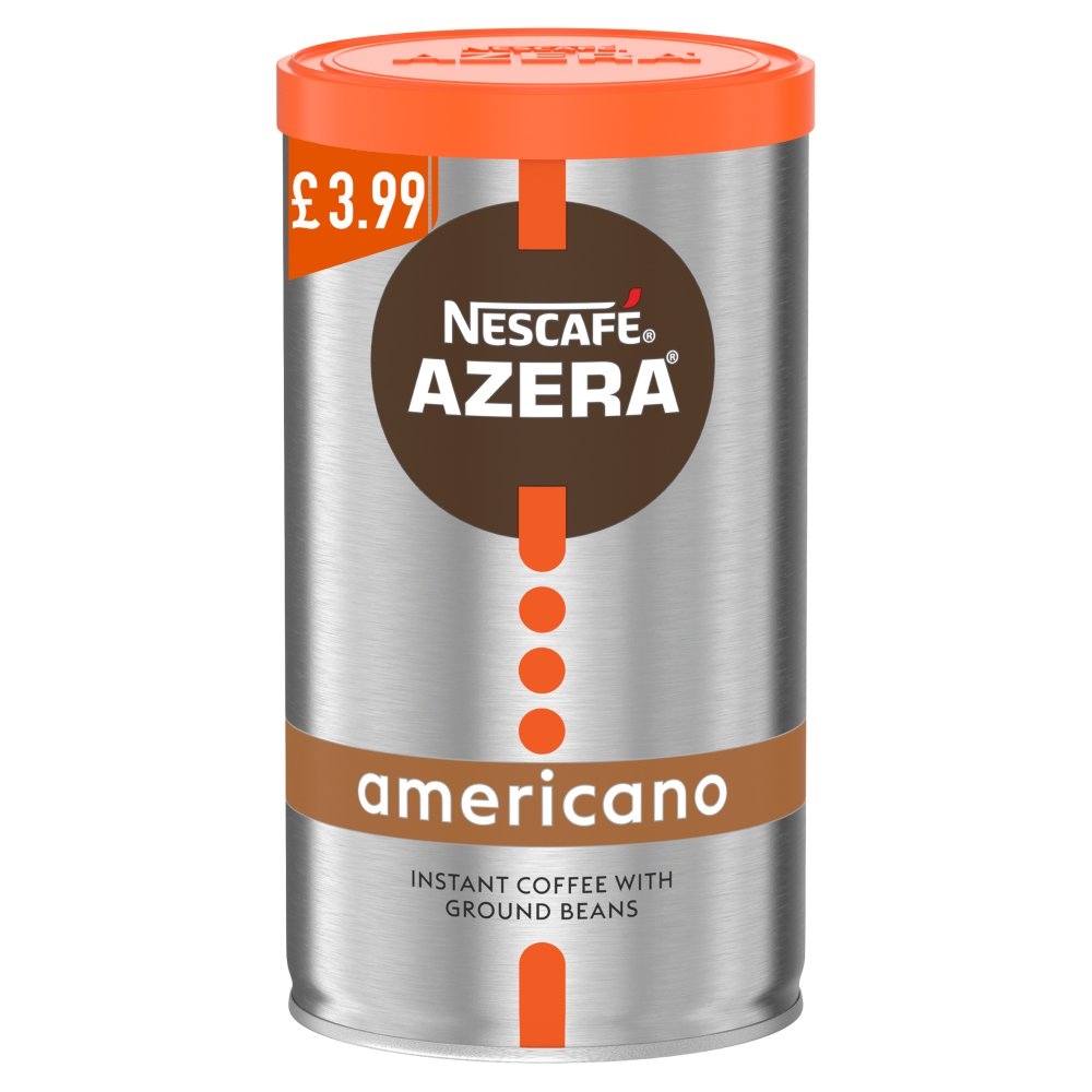 Nescafé Azera Americano Instant Coffee with Ground Beans 100g