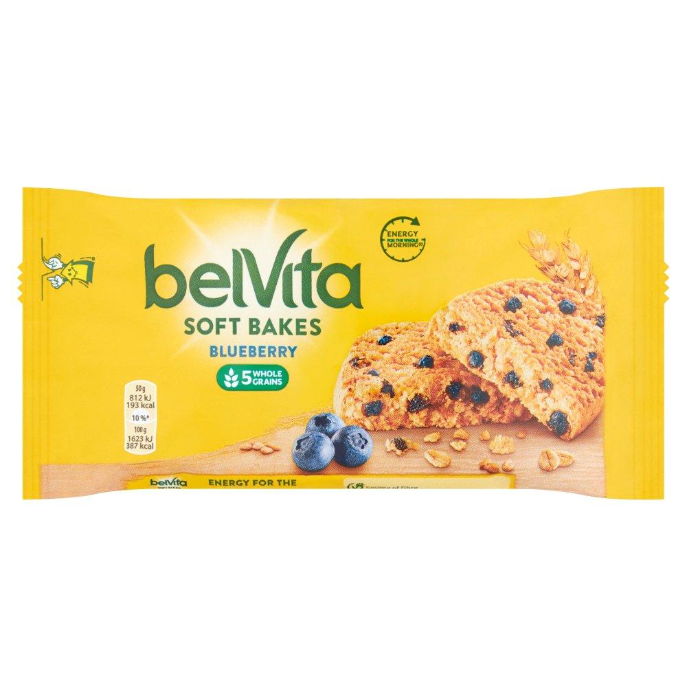 Belvita Soft Bakes Blueberry Biscuits 50g