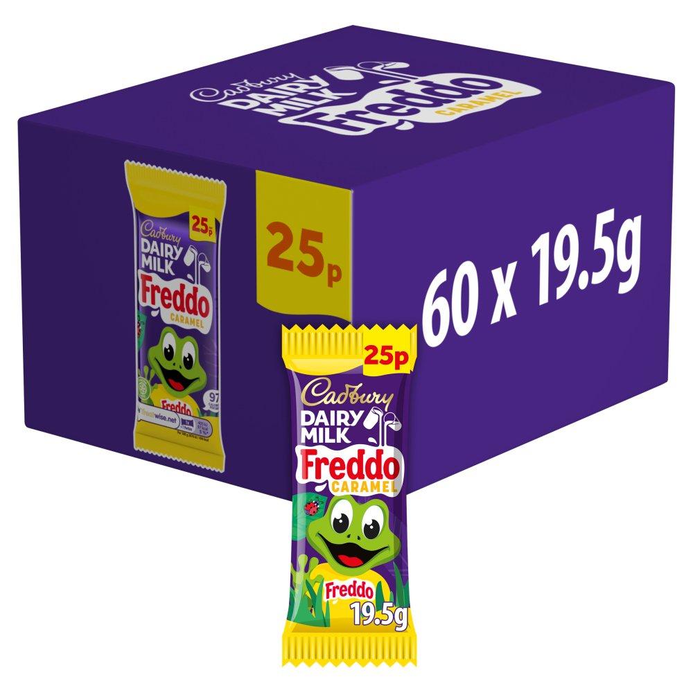 Cadbury Dairy Milk Freddo Caramel 25p Chocolate Bar19.5g