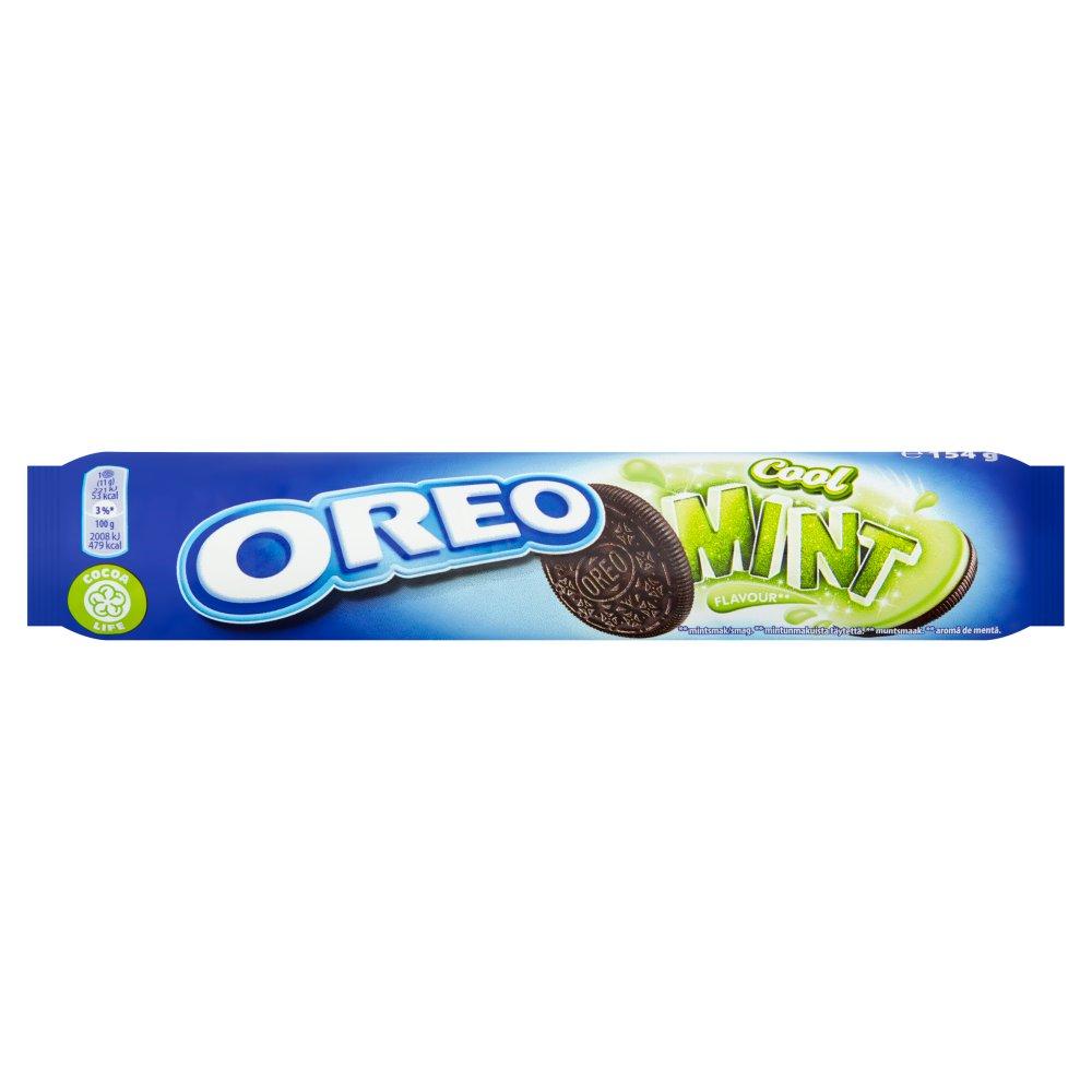 Oreo Mint Sandwich Biscuits 154g