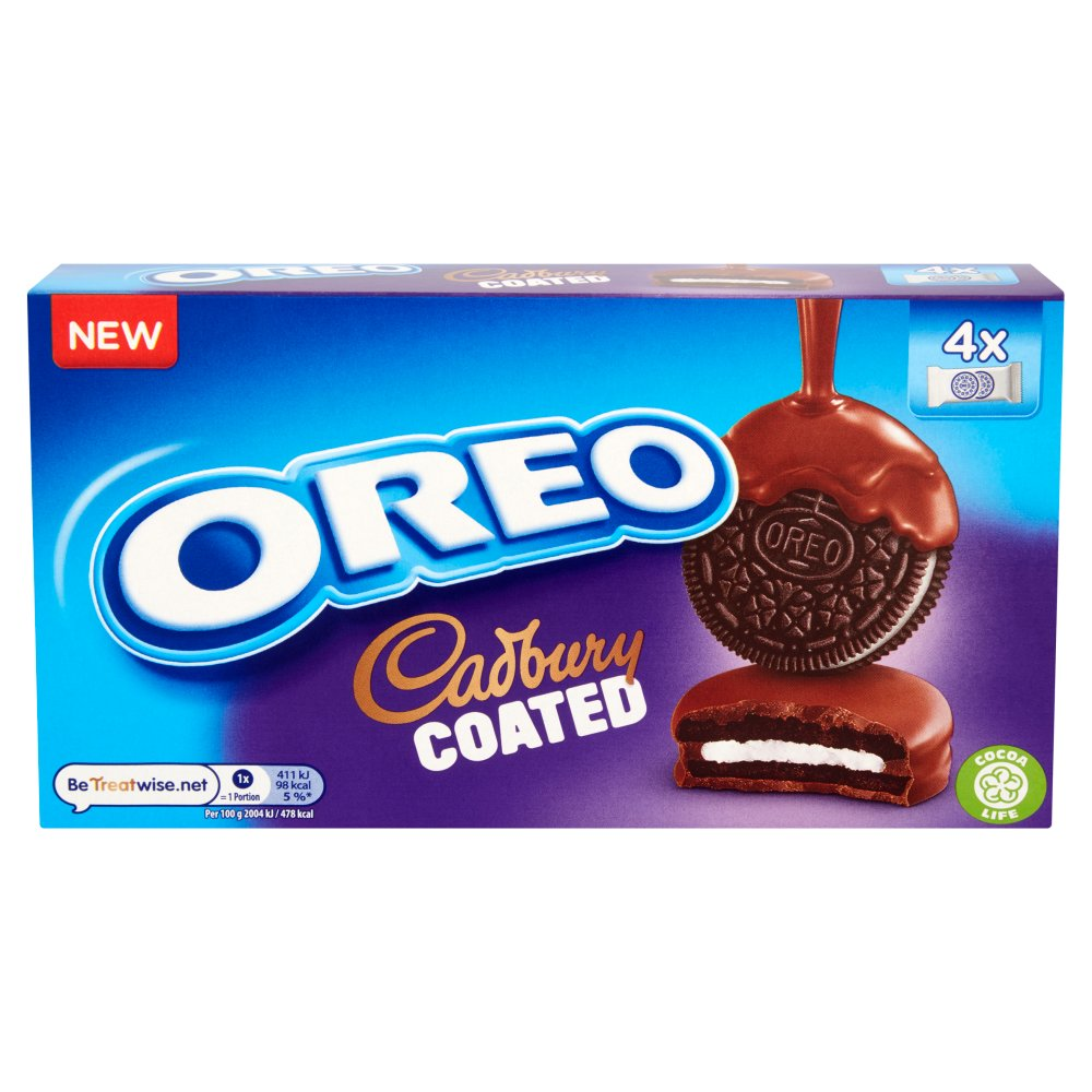 Oreo Cadbury Coated Biscuits 164g