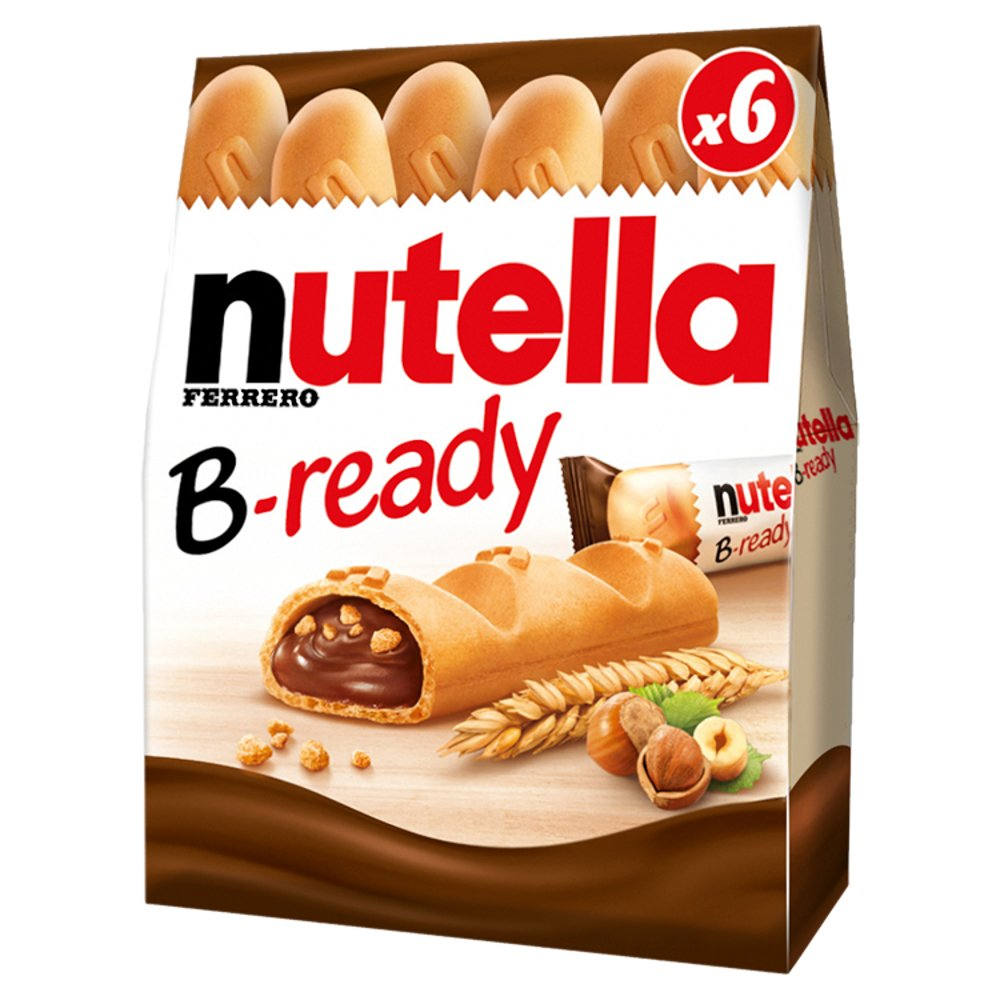 Nutella B-ready 6 Pack 132g