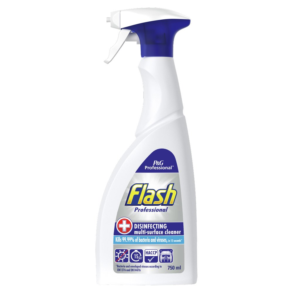 Flash Professional Disinfecting Multi-Surface Cleaner 750ML