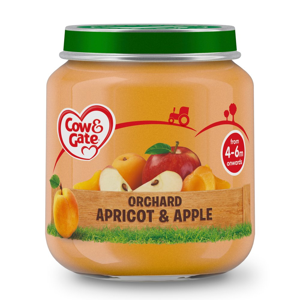 Cow & Gate Orchard Apricot & Apple