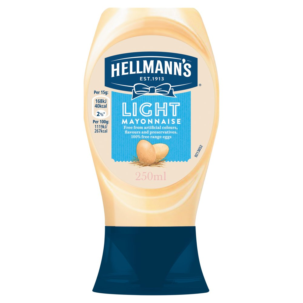 Helmanns Squeezy Light Mayonnaise