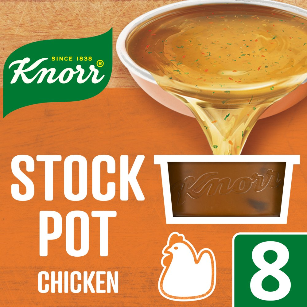 Knorr Chicken Stock Pot 8 x 28g