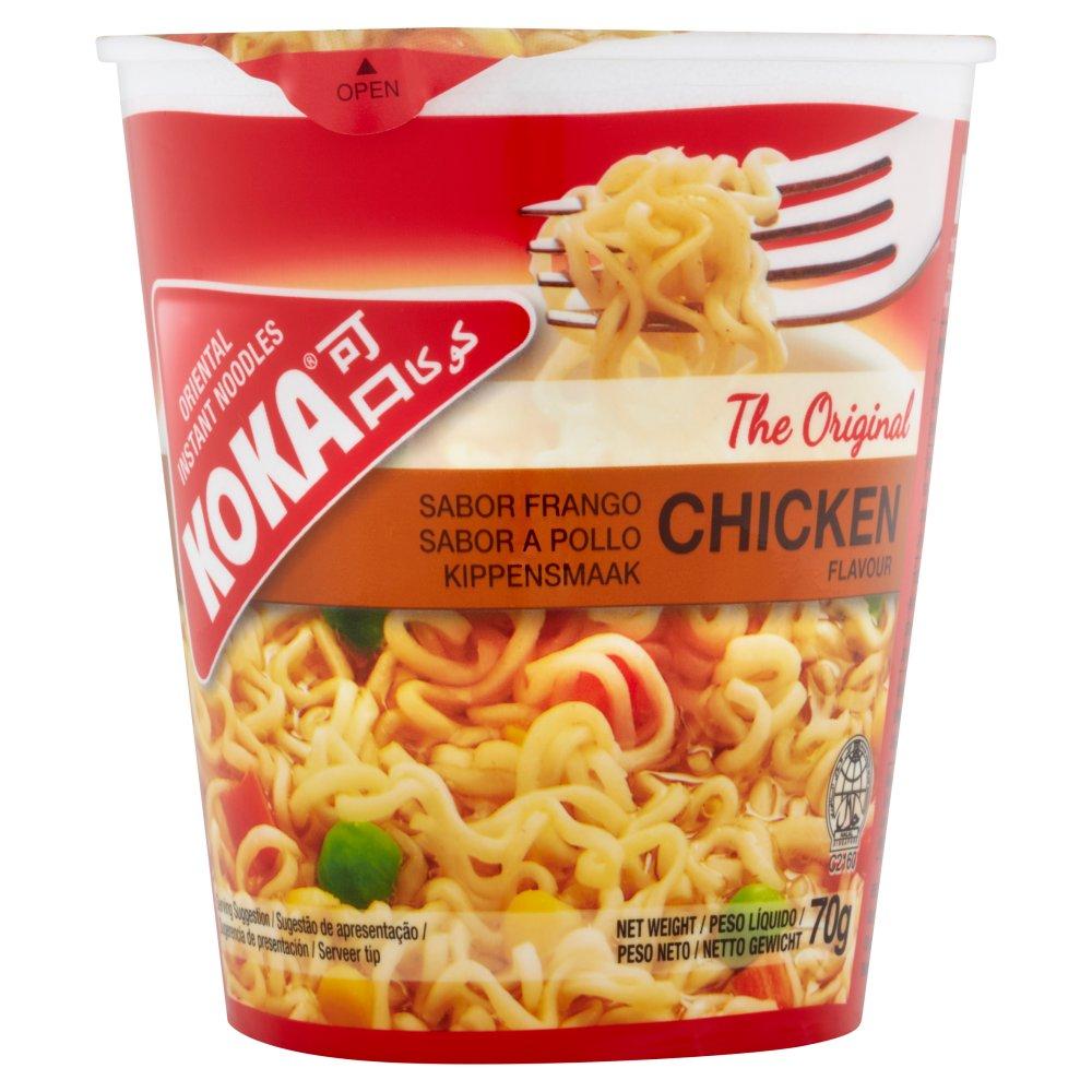 Koka The Original Chicken Flavour Oriental Instant Noodles 70g Bestway Wholesale
