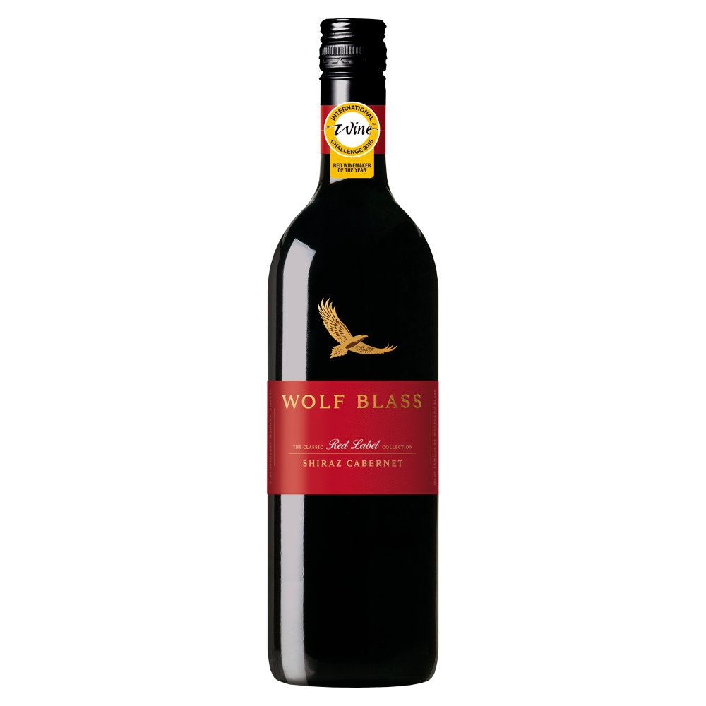 Wolf Blass The Classic Red Label Collection Shiraz Cabernet 750ml