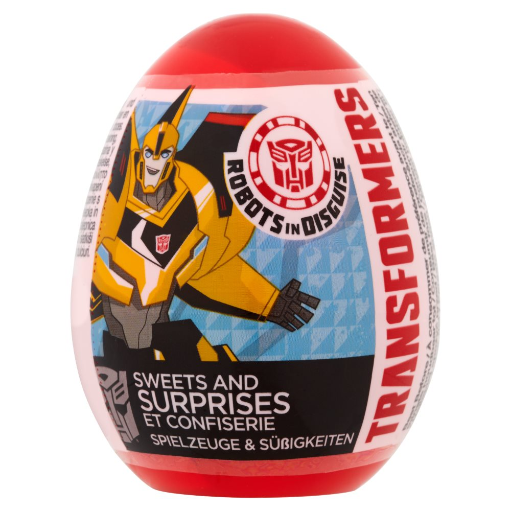 Bon Bon Buddies Surprise Eggs Transformers