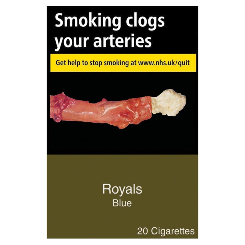 Royals Blue 20 Cigarettes