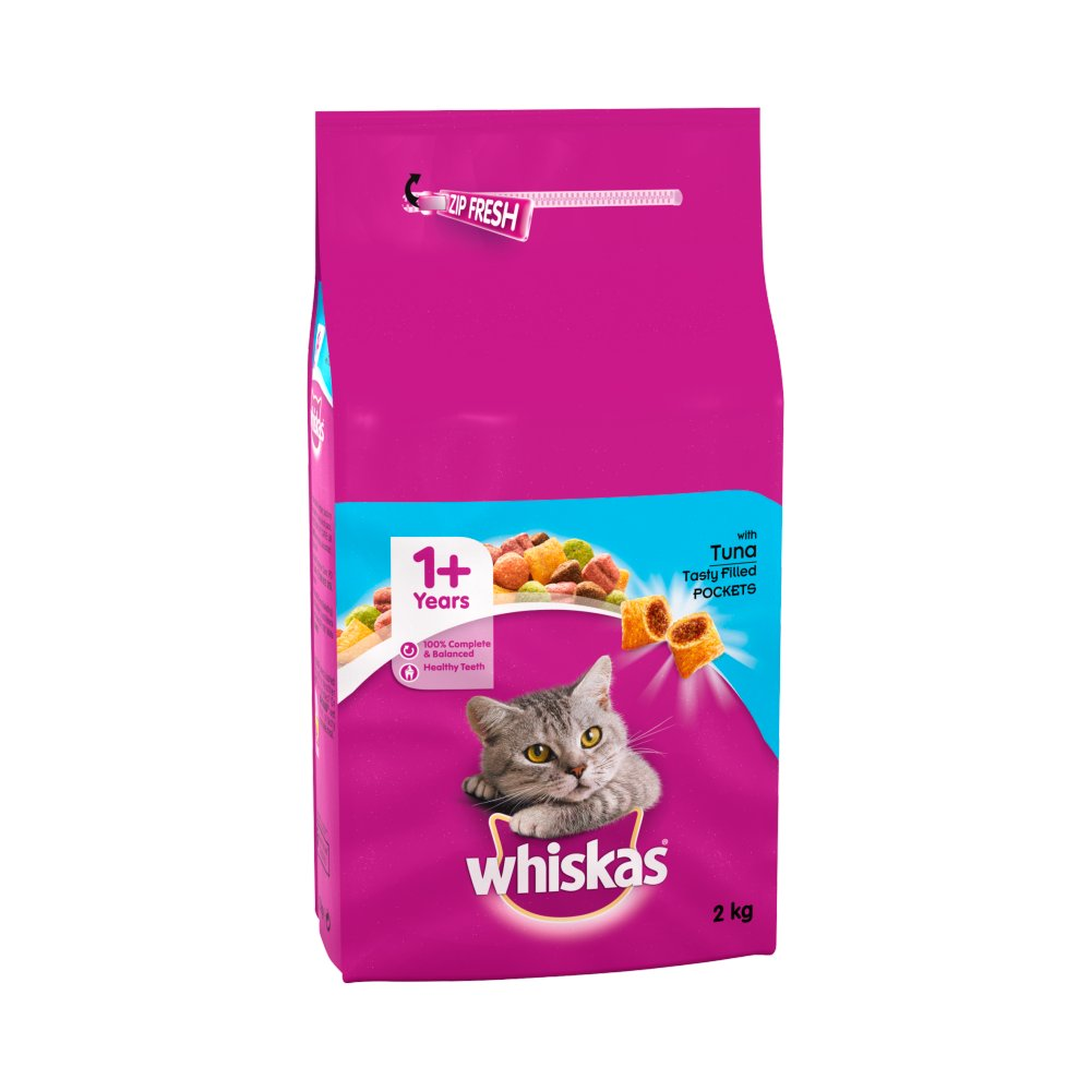 Whiskas Comp Tuna & Veg 2Kg