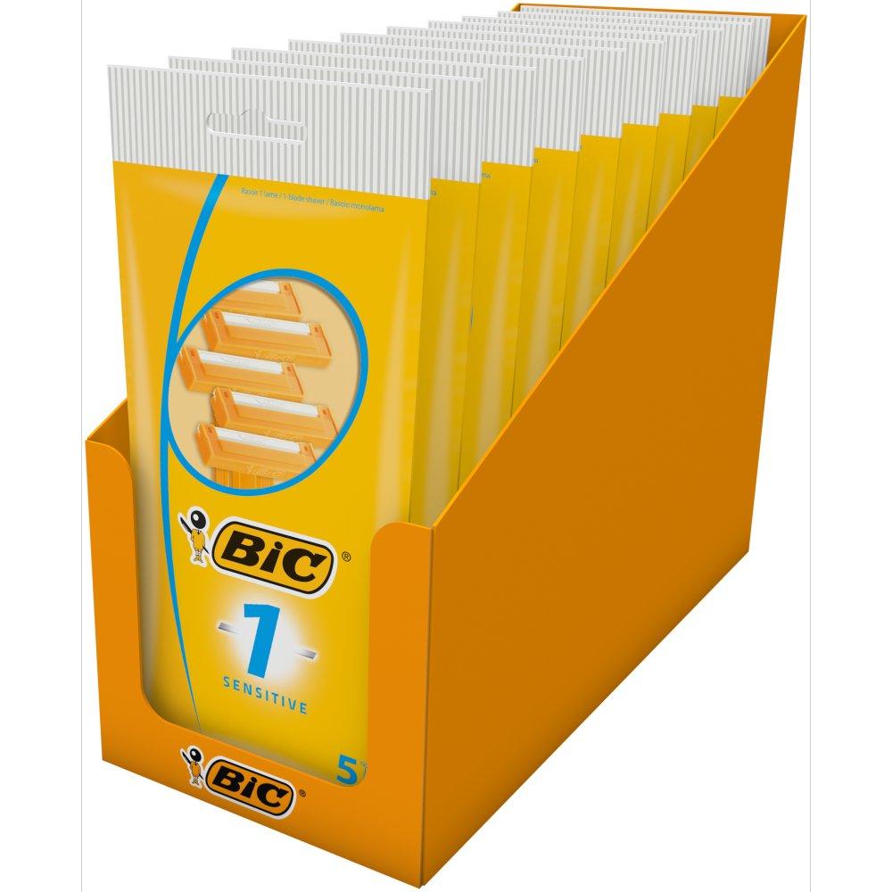 BIC 1 Sensitive P5 - Box of 10